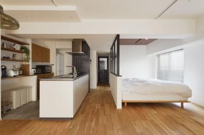 寝室 (2人暮らしの0LDK)