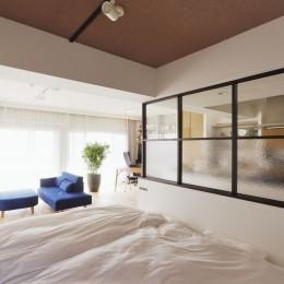 2人暮らしの0LDK (寝室)