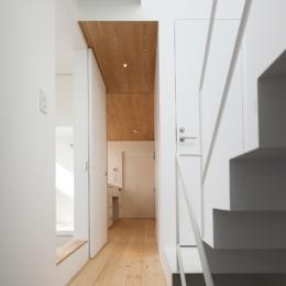 池上の家 (階段室)
