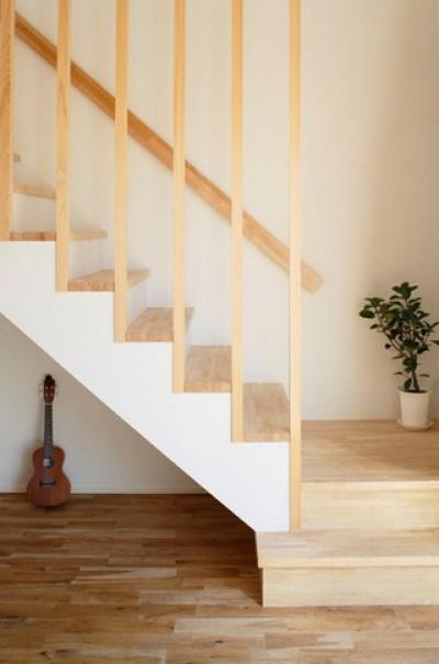 階段1 (空色のアメリカンハウス)
