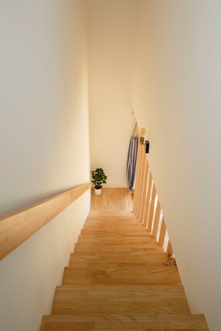 空色のアメリカンハウス (階段2)