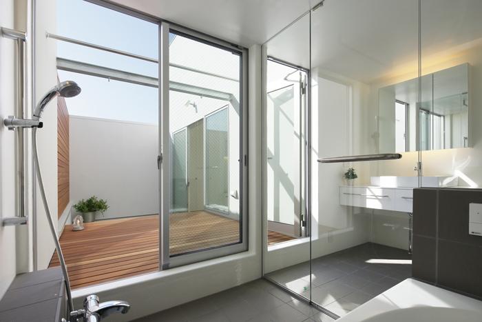 池上の家の部屋 浴室洗面室