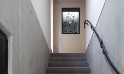 2+3の家 (階段1)