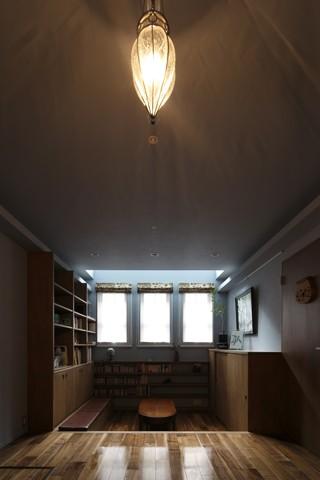 書斎事例:内観8(2+3の家)