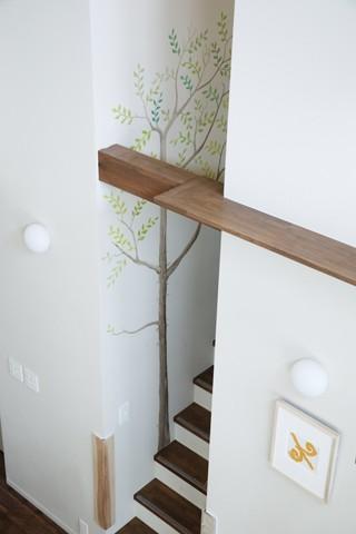 2+3の家 (階段2)