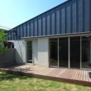 辻堂の家の写真 中庭・テラス