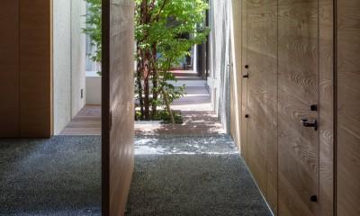 清水の家 (玄関)