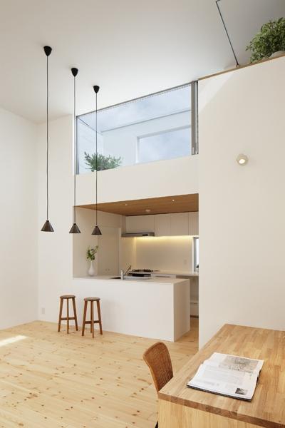 池上の家の部屋 キッチン