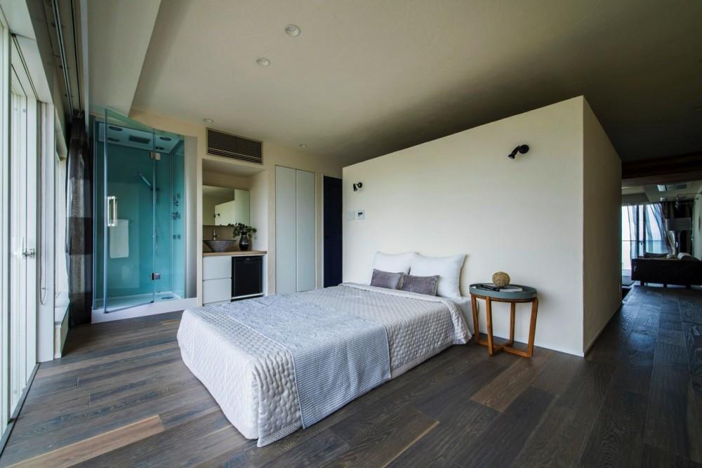 海に浮かぶ家 (ベッドルーム)