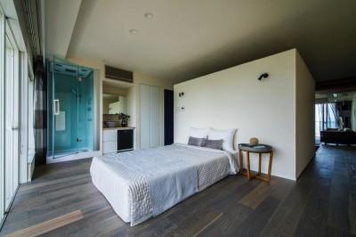 ベッドルーム (海に浮かぶ家)