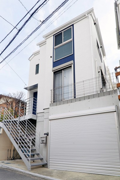 外壁 (横浜市A様邸 ~変える、と残す~)