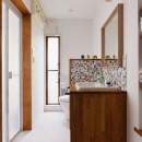 暮らしが広がるスキップリビングの写真 洗面・トイレ