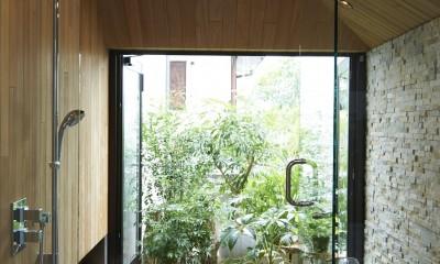 0(ゼロ)LDKの家 (自然を感じるバスルーム)