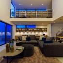 カジャデザインの住宅事例「本と過ごす家」