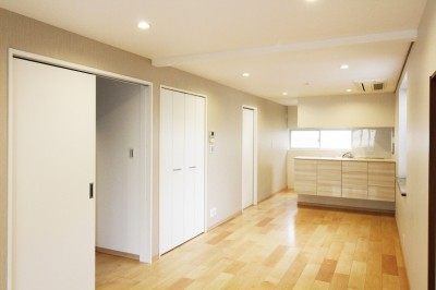 compact house (リビングダイニング)