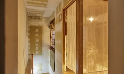 cafe634洗足池店 (cafe634洗足池店|2階階段・和室)