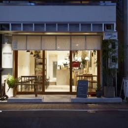 cafe634洗足池店 (cafe634洗足池店|ファサード(夜景))