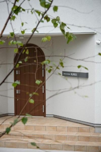 ドア (Holiday Villa Gran Suite/三角屋根の長期滞在型ヴィラ(ホテル))