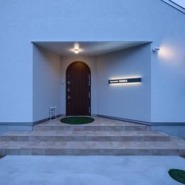 Holiday Villa Gran Suite/三角屋根の長期滞在型ヴィラ(ホテル) (玄関)