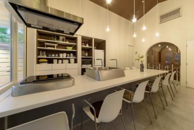 ダイニングキッチン (Holiday Villa Gran Suite/三角屋根の長期滞在型ヴィラ(ホテル))