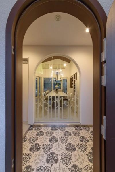 玄関ホール (Holiday Villa Gran Suite/三角屋根の長期滞在型ヴィラ(ホテル))