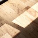 駅から直結 澄み渡る角部屋の写真 無垢床