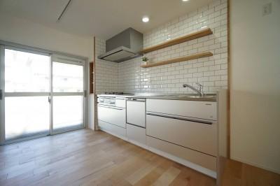 キッチン (『団地×リビ充リノベ』)