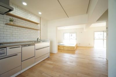 キッチン3 (『団地×リビ充リノベ』)