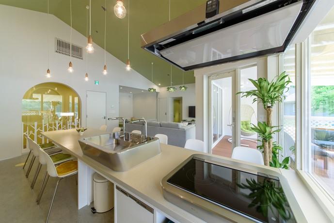 Holiday Villa Gran Suite/三角屋根の長期滞在型ヴィラ(ホテル) (キッチン)