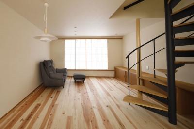 松の木ハウス (施主宅LDK)