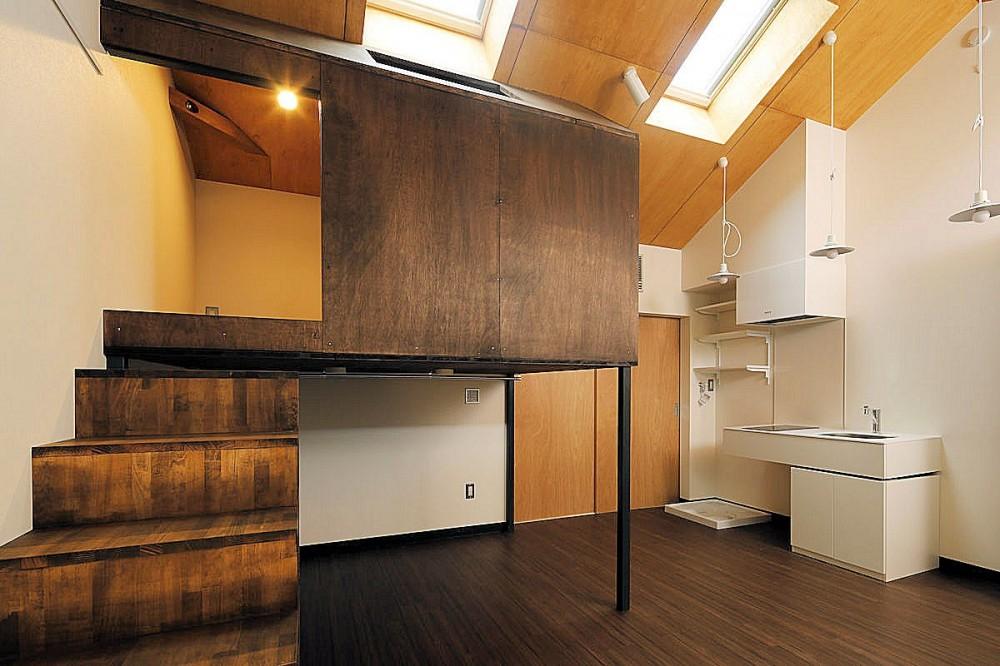 松の木ハウス (鳥小屋)