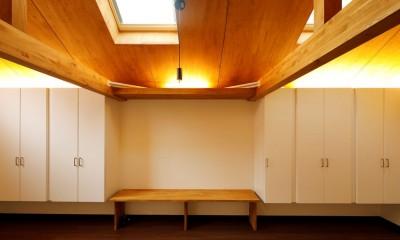 松の木ハウス (収納)