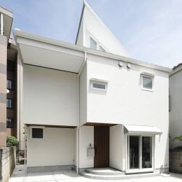 三角屋根の家 (三角屋根)