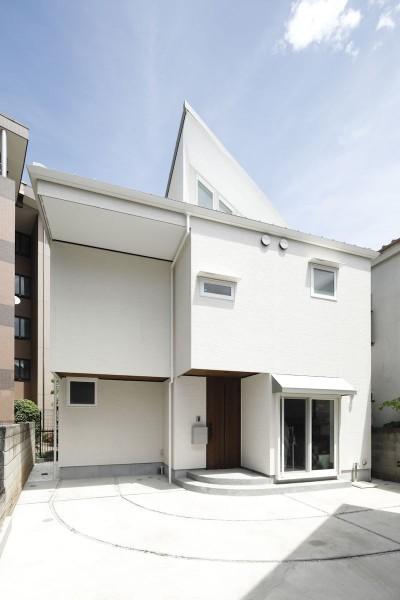 三角屋根 (三角屋根の家)