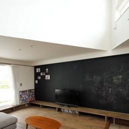 三角屋根の家 (三角吹き抜け)
