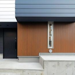 キューブBOXハウス (外壁)