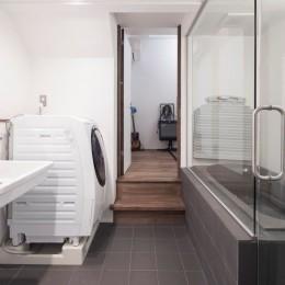 キューブBOXハウス (浴室)