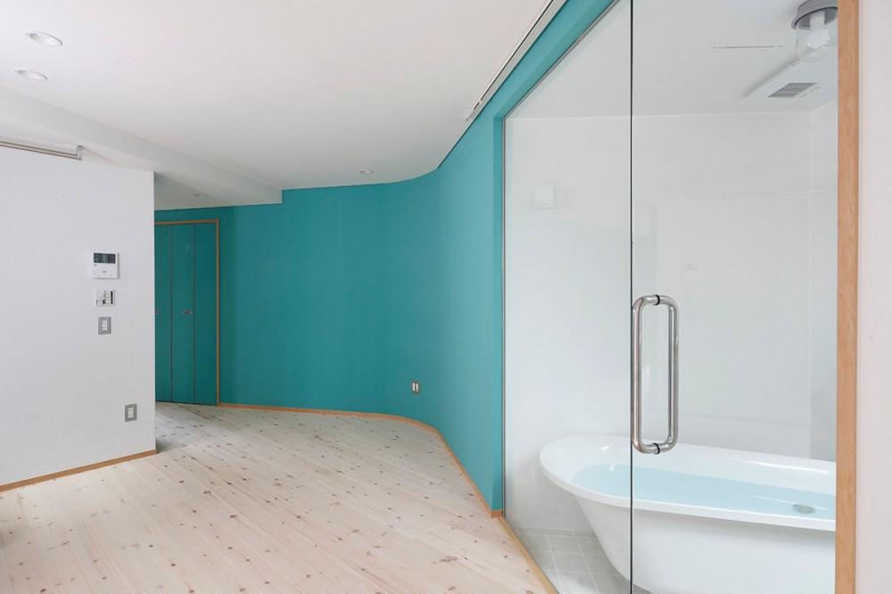 路地部屋賃貸 (浴室)