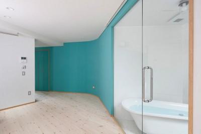 浴室 (路地部屋賃貸)