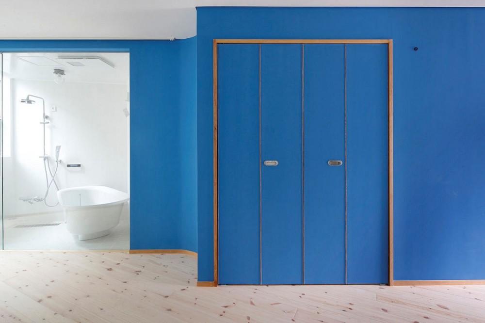 路地部屋賃貸 (賃貸室B浴室)