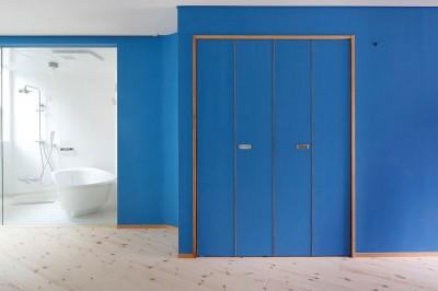 賃貸室B浴室 (路地部屋賃貸)