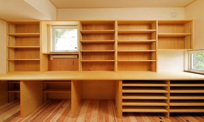 本の家 (書斎)