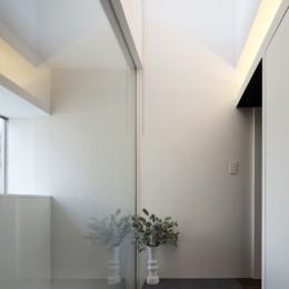 上高井戸の家の部屋 玄関ホール