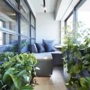 「GREEN DAYS」リノベーション×室内緑化で、理想の住まいを形にしていくの写真 テラス