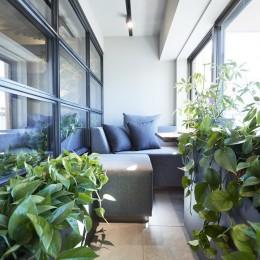 テラス (「GREEN DAYS」リノベーション×室内緑化で、理想の住まいを形にしていく)