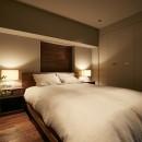 「GREEN DAYS」リノベーション×室内緑化で、理想の住まいを形にしていくの写真 寝室
