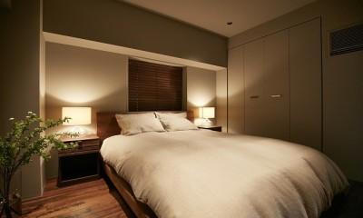「GREEN DAYS」リノベーション×室内緑化で、理想の住まいを形にしていく (寝室)