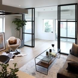 RE : Apartment UNITED ARROWS LTD. CASE003 / PLAN A (リビング)