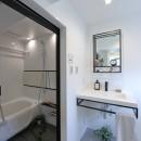 RE : Apartment UNITED ARROWS LTD. CASE003 / PLAN Aの写真 洗面室