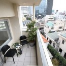 RE : Apartment UNITED ARROWS LTD. CASE003 / PLAN Aの写真 バルコニー